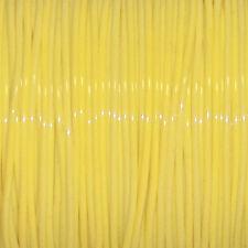 50 YARDS (45m) SPOOL BABY YELLOW S'GETTI REXLACE PLASTIC LACING CRAFTS CYBERLOX