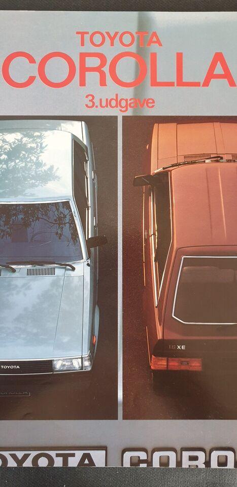 Brochure, Toyota Corolla