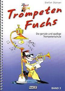 Trompete-Noten-Schule-Trompeten-Fuchs-Band-3-Trompetenschule-B-WARE
