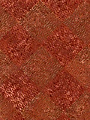 Two Tone Red Diamond Weave Wallpaper 685353