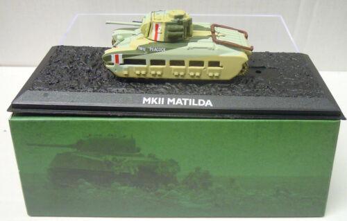Fertigmodell Neu 1//72 Mk.II Matilda Atlas Metall