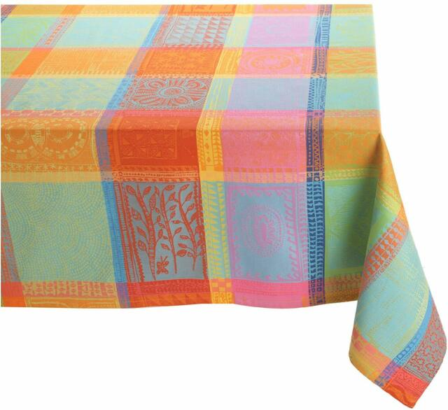 Garnier Thiebaut Mille Wax Creole French Jacquard Tablecloth 71 X 71 Ebay