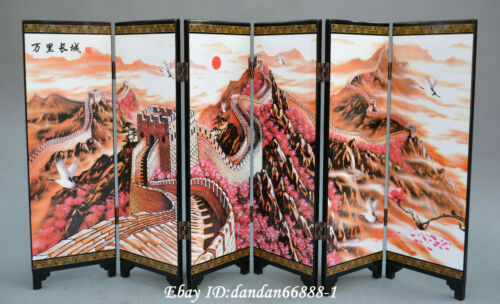 diorama - Chinese wooden chairs and table sets A and B S-l500