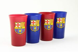 FC Barcelona Football Club Shot Glasses Barcelona set of 4 Shot Glasses