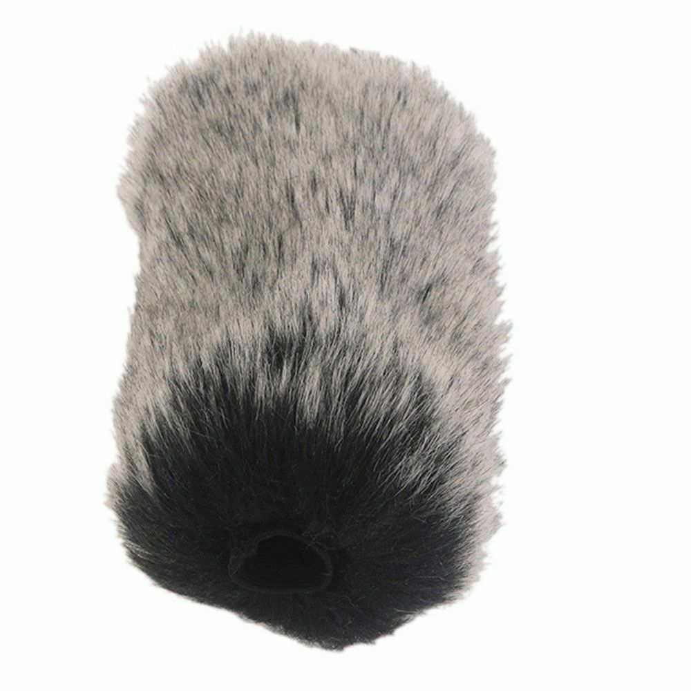 Dusty Microphone Artificial Fur Cover Windshield Muff Accessory For Rode GO SN