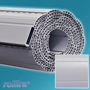 rollladen rolladenpanzer behang k45b grau sondergr e rolladen lamellen neu. Black Bedroom Furniture Sets. Home Design Ideas
