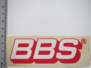 Details Zu Aufkleber Sticker Bbs Räder Tuning Reifen Motorsport Felgen 5246