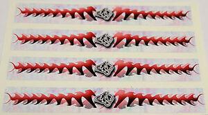 """0967 Vinyle Hd Arrow Wraps-sk-cowboy 2 0.875"""" Wide 7"""" Long (12 Pack)-afficher Le Titre D'origine"""