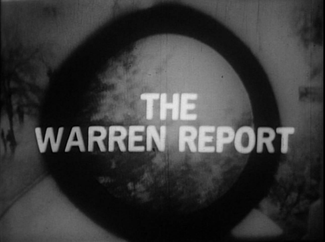 November 22nd and The Warren Report