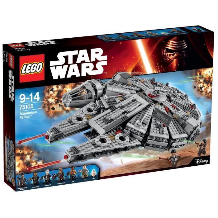 LEGO  Star Wars 75105 Millennium Falcon (emballage légèreHommest abîmé)  jusqu'à 70% de réduction