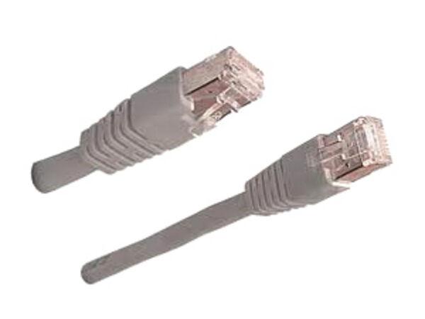 Câble réseau droit blindé ethernet RJ45 (cat.5) 20m