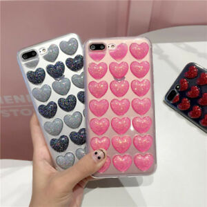 Cute-Bling-3D-Loving-Heart-Rubber-Soft-Phone-Case-Cover-for-iPhone-7-6-6s-Plus