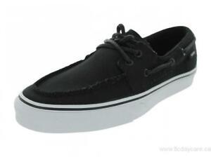 26f8ccc4f510 Original Vans Zapato Del Barco VN-0XC36BT Black Canvas Casual Men
