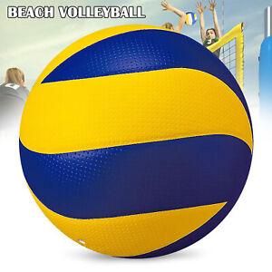 Professional officiel taille 5 Beach Volleyball doux PU cuir balle de match