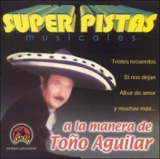 Super Pistas a la Manera de Tono Aguilar, Grupo Musical de Exitos, New