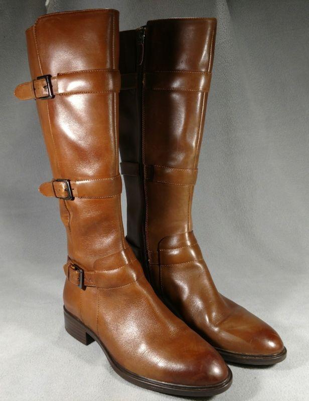 le migliori marche vendono a buon mercato ECCO donna Marrone Leather Knee High High High stivali Dimensione 9  EU 39 VGUC TO EUC  ANB  negozio di moda in vendita