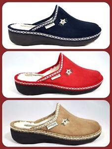 Caricamento dell immagine in corso Ciabatte-Pantofole-Donna -Grunland-ALDE-835-velluto-pelliccia- 8018ad51b0e