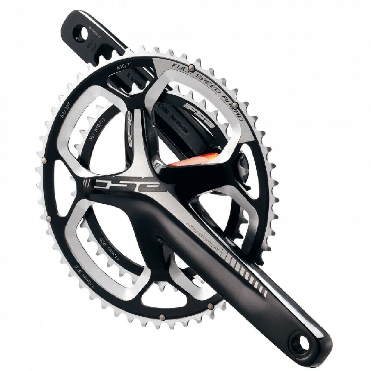FSA GOSSAMER PRO ABS ALLOY DOUBLE CRANKSET 36 46T - 170mm BB386EVO