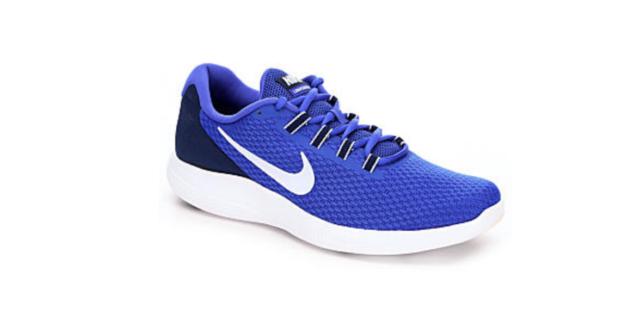 1132a9229243 Nike Lunar Converge Paramount Blue white Running Sneaker Size 8.5 ...