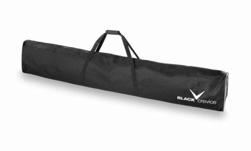 SkitascheSkibagSkisack 1 Paar Skier 190//200 cm * BLACK CREVICE