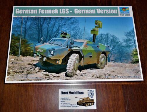 German deutscher Fennek LGS-Germann  in 1:35 Trumpeter  05534  Neu