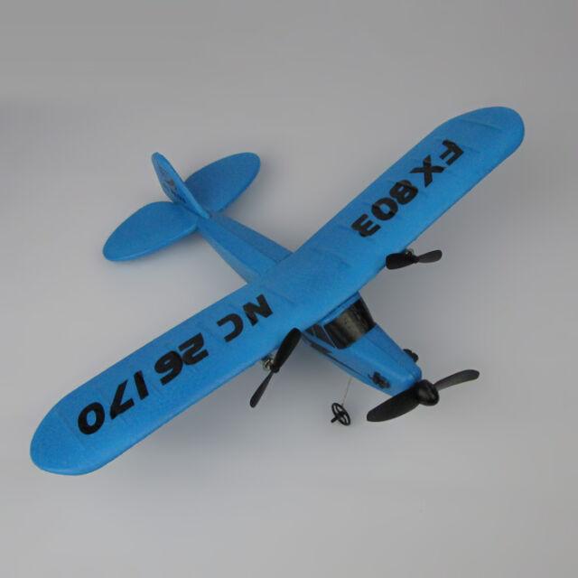 Flybear FX-803 RTF planeur RC hélicoptère 2.4GHz 2CH EPP avion double hélice