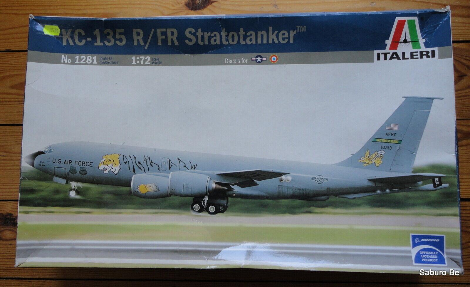 ITALERI  1 72 KC-135 R FR Stratotanker Stratotanker Stratotanker 1281 af6