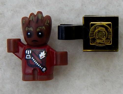NEW LEGO BABY GROOT MINIFIG minifigure figure 76080 guardians of the galaxy 2