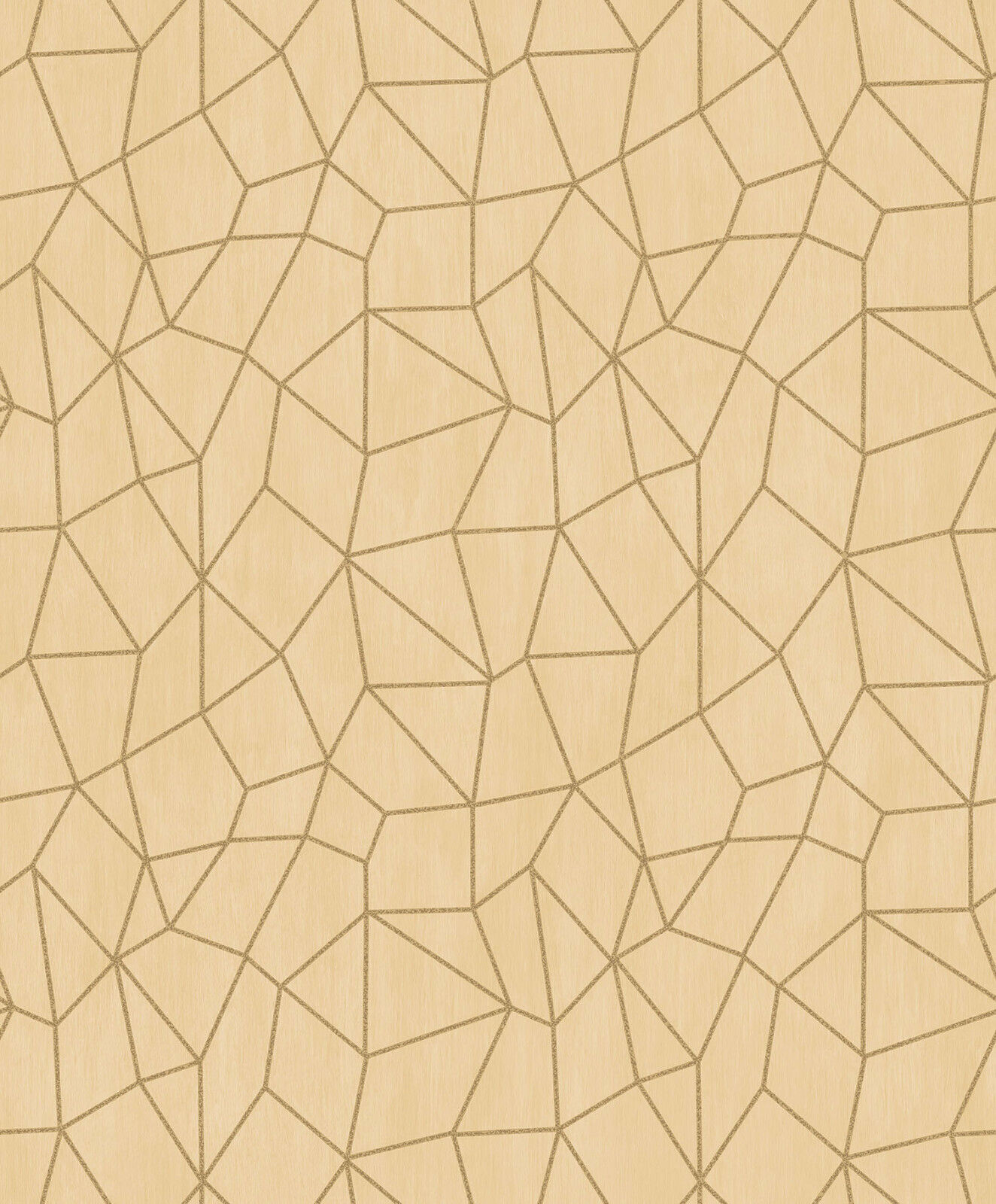 Essener Tapete Special Fx G67703 Network Mesh Look gold Vinyl Fleece Wallpaper
