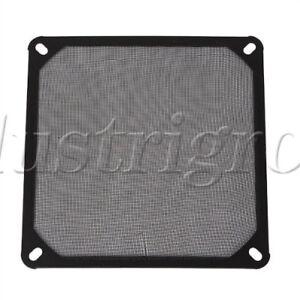 Black-14cm-140mm-PC-Computer-Chassis-Fan-Dustproof-Filter-Mesh-Metal-Strainer