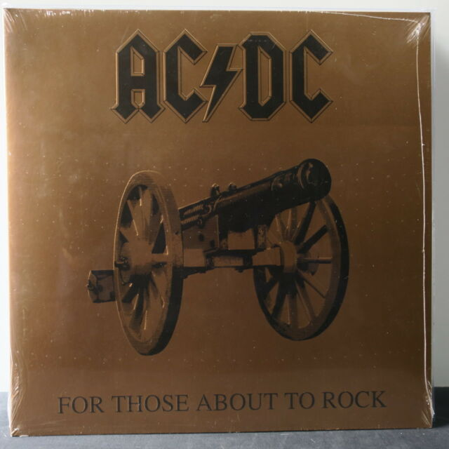 AC/DC 'For Those About To Rock' Gatefold 180g Vinyl LP NEW/SEALED