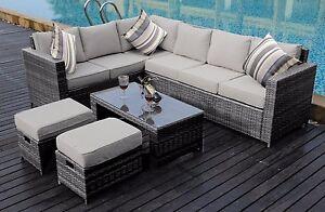 NEW-Conservatory-MODULAR-8-Seater-Rattan-Corner-Sofa-Set-Garden-Furniture-Set