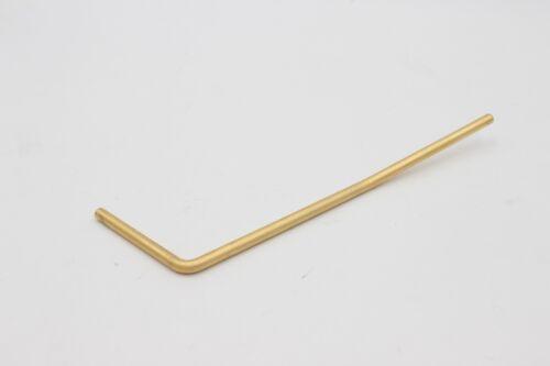 Gold Satin No Thread Guitar Strat Style Trem Tremolo Whammy Bar Arm