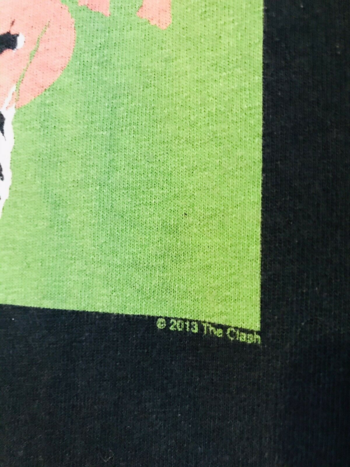 The Clash 3XL Distressed T Shirt not cd - image 3