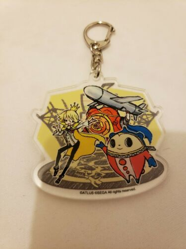 *SALE* Persona 4 The Golden GraffArt Acrylic Keychain Charm Yu Rise Teddy Naoto