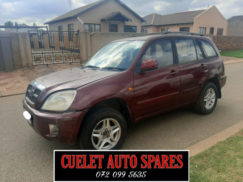 Chery Tiggo stripping for spares and Accessories