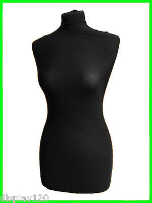 REPLACEMENT BLACK COVER Female Tailors Dummy Dressmakers Mannequin Size 8,10,12