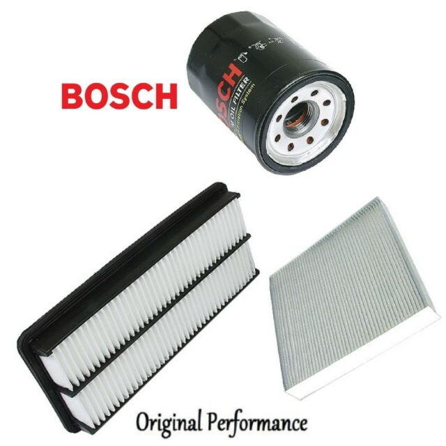 Tune Up Kit Cabin Air Oil Filters For Acura TL V6; 3.2L