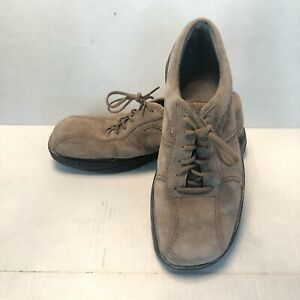 Merrell-Men-039-s-World-Sport-Mud-Pie-Suede-Leather-Shoes-Lace-Up-Casual-Size-10-5M