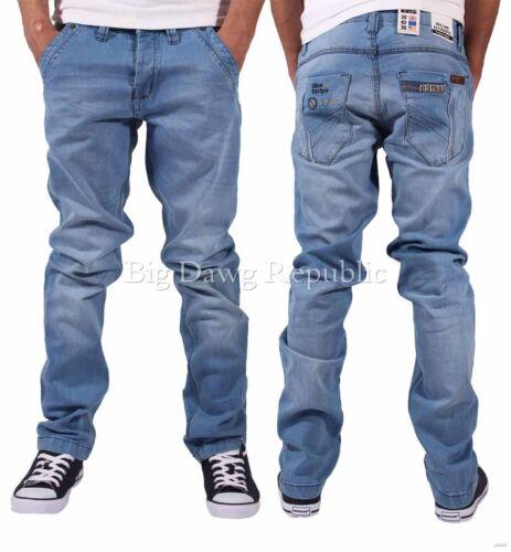 Hip Hop G Denim Rock Star Men/'s Designer Jeans Kingswood Is Time Money IB