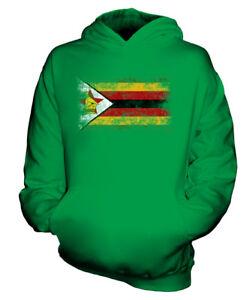 ZIMBABWE-DISTRESSED-FLAG-KIDS-HOODIE-TOP-ZIMBABWEAN-SHIRT-FOOTBALL-JERSEY