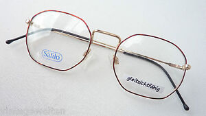 Kast Wit Smal.Details About Safilo Small Glasses Frame Kast 8 Eckform Thinning Edge Gold Brown Size S