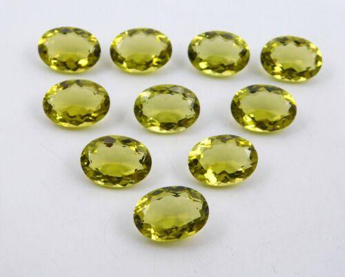 Details about  /108 Cts Lab Created Lemon Quartz Oval Cut Stone Loose Gemstone 13X18 MM P-1125