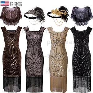 1920s-Flapper-Dress-Gatsby-Vintage-Wedding-Party-Formal-Evening-Cocktail-Dress