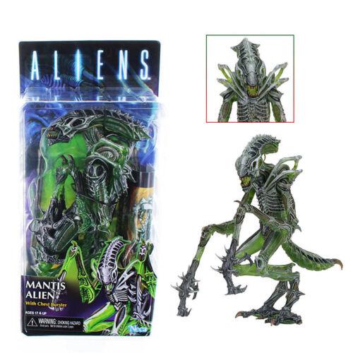 "Aliens 10 Séries Mantis Aliens /& Chest Burster Kenner 7"" Figurine Modèle NECA"