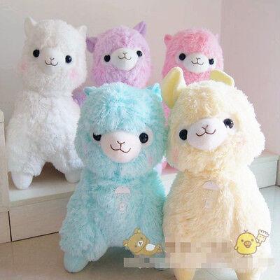 colorful Arpakasso Alpacasso Alpaca Big Plush toy dolls Fresh soft gift (48cm)
