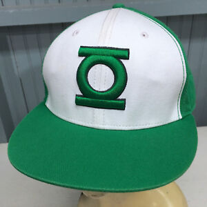 Green Lantern DC Comics Under Brim Logo Medium   Large Baseball Cap ... c88fb08cfa7