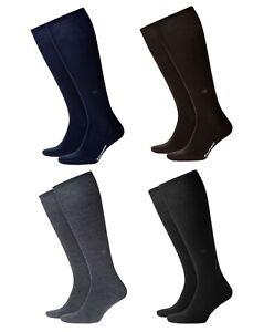Socks-Man-Wool-Solid-Colour-BURLINGTON-Art-21707-LEEDS-Size-40-46