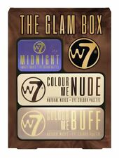 W7 The Glam Box Eye Shadow Pallett  Midnight Colour Me Nude Buff