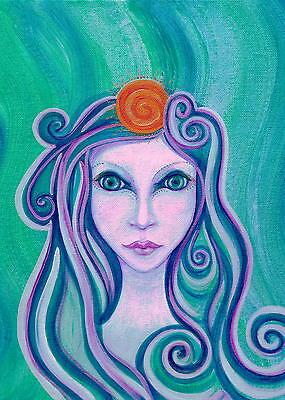 Keltisch Göttin Arianrhod Grußkarte 3 Optionen Erhältlich